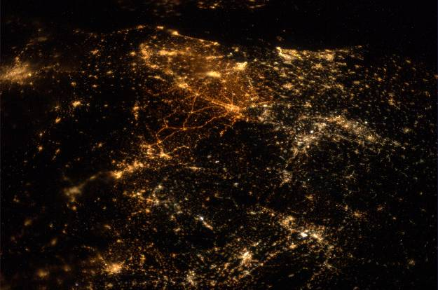 Central Europe and the North Sea