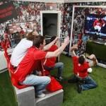 Крутые интерьеры комнат футбольных болельщиков