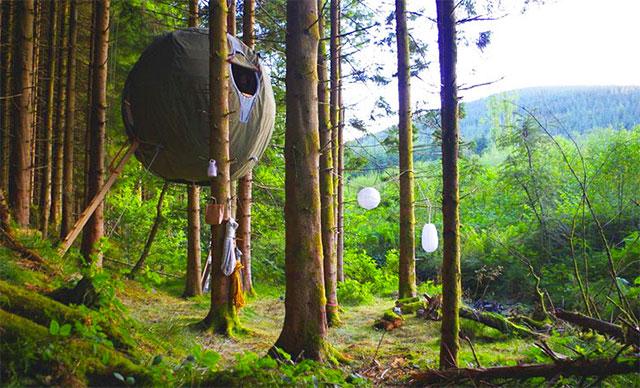 Смотри какими необычными бывают обычные палатки для отдыха