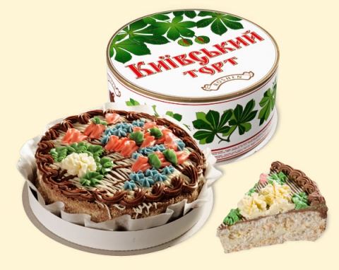 Киевский торт. Визитная карточка Советской Украины.