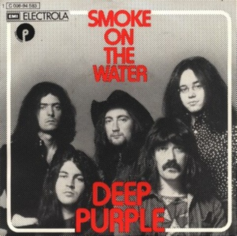 Факты о Deep Purple. Великий хит — Smoke on the water.