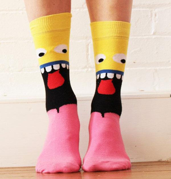 25 забавных и креативных мужских носков