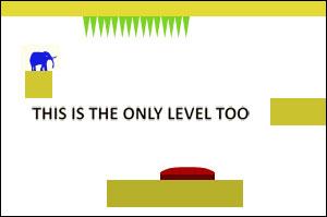 Игра про слона- This is the Only Level TOO-Веселая, психоделическая флеш игра