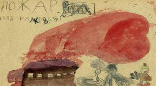 Свинья сжигающая дом, и другие перлы из детских карикатур
