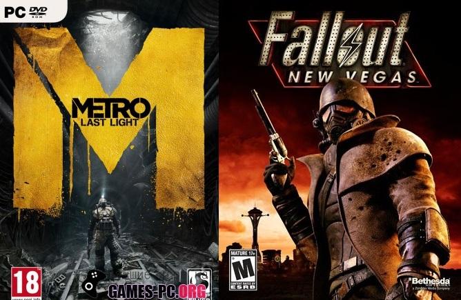 Fallout 3 New Vegas против Metro 2033: Last Light. Кто кого? (трейлеры+обзор)