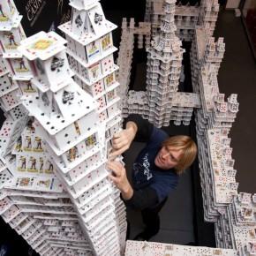 Карточные домики Брайана Берга