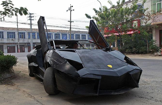 Безумные машины со всего мира.Смотреть.