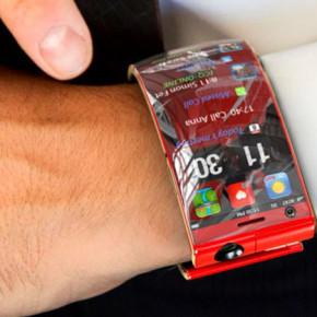 Концептуальный смартфон-браслет
