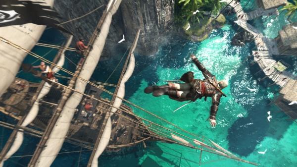 Лучшие игры Планктона-Assassin's Creed 4: Black Flag. Видеопревью и обзор