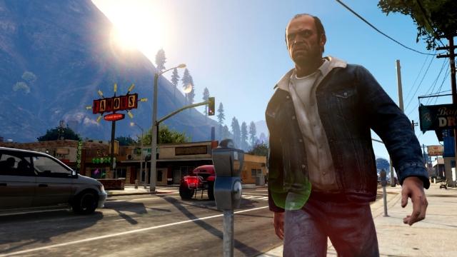Информация о PC-версии GTA 5.