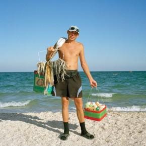 Отдых на море. Пляжные торговцы Украины.