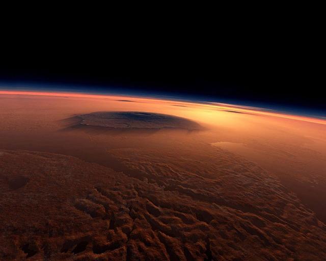 На Марсе была жизнь