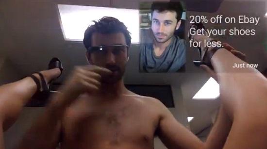 На Google Glass сняли порно. Именно сейчас вы можете узреть все прелести и функции очков от Google.