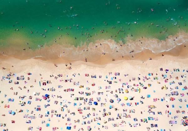 Аэрофотоснимки пляжей от Грея Малин
