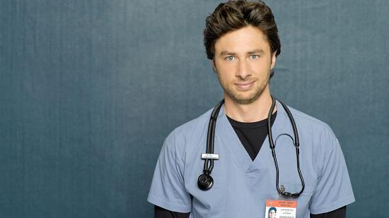 Зак Брафф — звезда «Клиники» или необычное предложение руки и сердца.