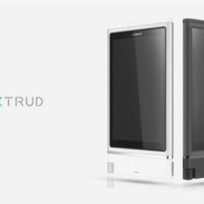 Sony XTRUD концепт смартфона с возможностью апгрейда железа.
