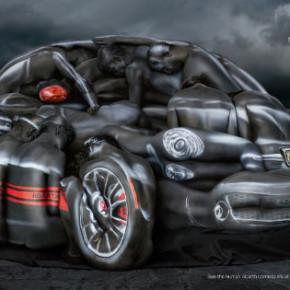 Fiat 500 сделан из чистых мускулов.