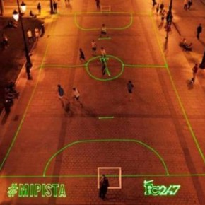Nike — креативное футбольное поле для настоящих любителей футбола.