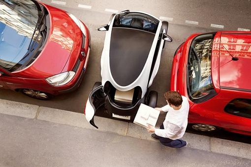 Renault Twizy Cargo – грузовой городской электромобиль. Обзор+видео.