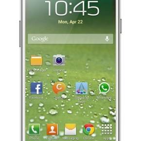 Реклама Samsung S4 с намеком на яблочко.