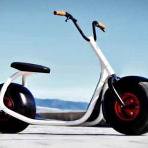 Scrooser — концепт электрического скутер-самоката