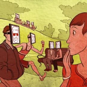 Правдоподобные иллюстрации современной жизни от Корена Шадми.