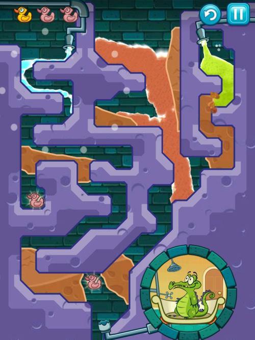 Where's My Water — одна из лучших мобильных игр теперь и на нашем сайте :)