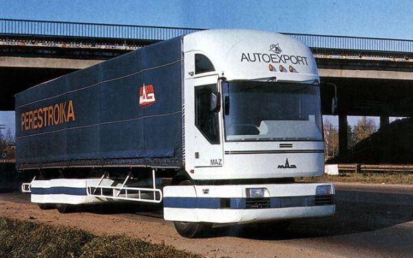 Самые необычные грузовики МАЗ