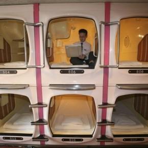 Как устроены капсульные отели в Японии.
