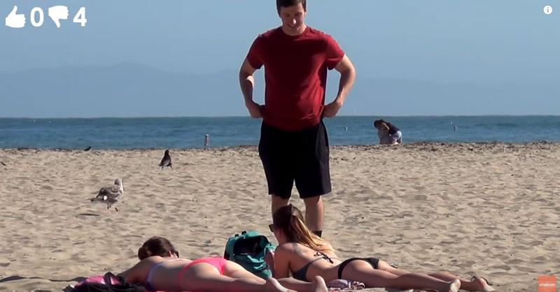 Сколько девушек будут согласны на предложенный секс [видео]
