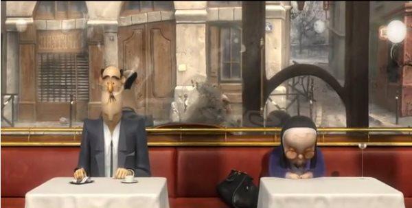 Французский кофе — красивый с тонким юмором короткометражный мультфильм