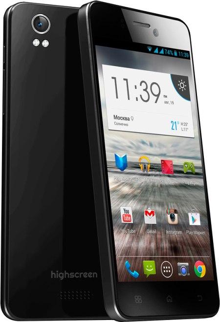 Смартфон Highscreen Alpha Ice — улучшенный iPhone 5 на Android
