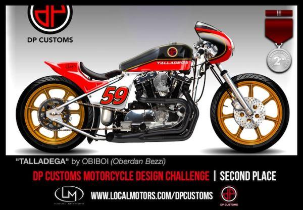 Конкурс на лучший дизайн мотоцикла DP Customs Motorcycle Challange