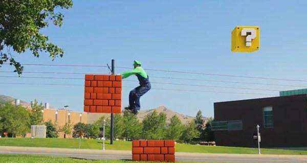 Супер паркур от братьев Марио. Самый необычный паркур из всех, которые есть в интернете.