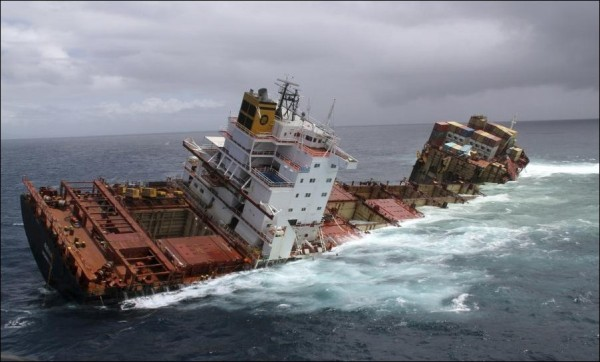 Видео кораблекрушений