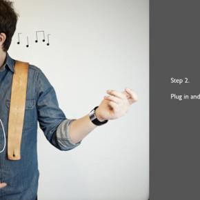 Электронные браслеты Soundbrace позволяют создавать музыку, играя на «невидимой гитаре»