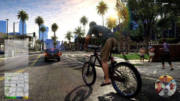 Сегодня 17.09.2013 официально вышла GTA V.