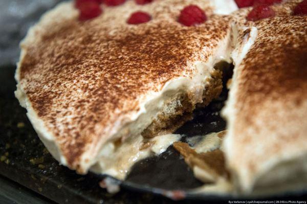 Рецепт самого лучшего Тирамису. С какао и малиной.