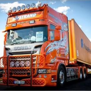 Фото лучших грузовиков из Фестиваля Грузовиков  «Nordic Trophy 2013».