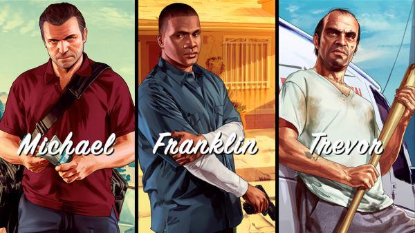 GTA V. Первые шаги, первые миссии и обзор мира игрового хита 2013 года.