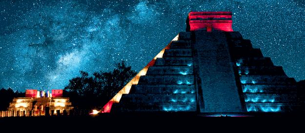 Яркое и красивое фото и видео-путешествие по Мексике.