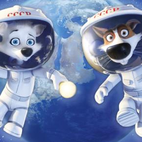 """Красивый и веселый трейлер мультфильма """"Белка и Стрелка: Лунные приключения"""""""