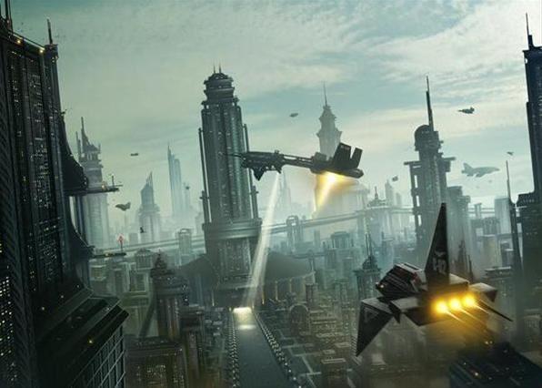 Контактеры НЛО рассказывают о странном космическом городе Куили. По его описанию он напоминает нам — Рай.