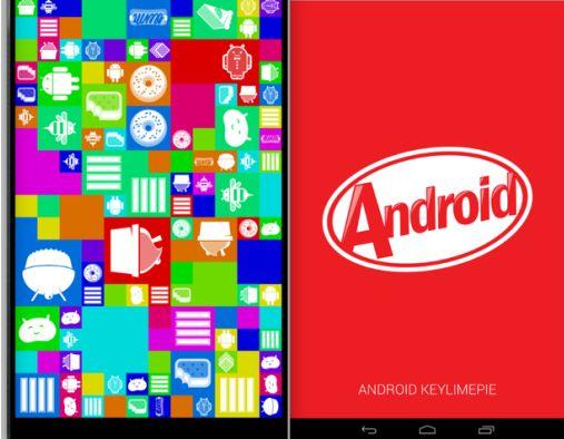 Первые скриншоты Android 4.4 KitKat + видео