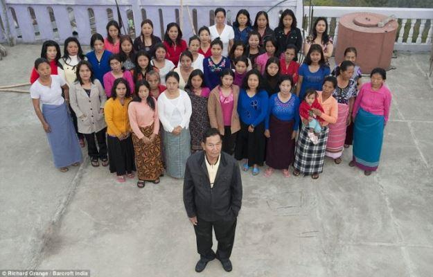 Самая большая семья в мире живет в Индии
