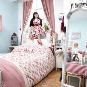 Как выглядит женская спальня.