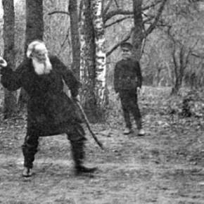 Причуды великого писателя Льва Толстого