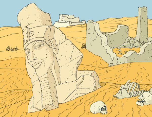 Почувствуй себя гражданином Древнего Египта.