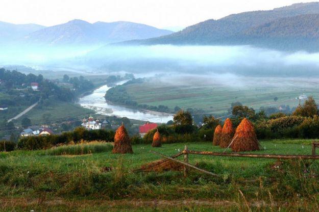 Великолепные пейзажи Западной Украины.
