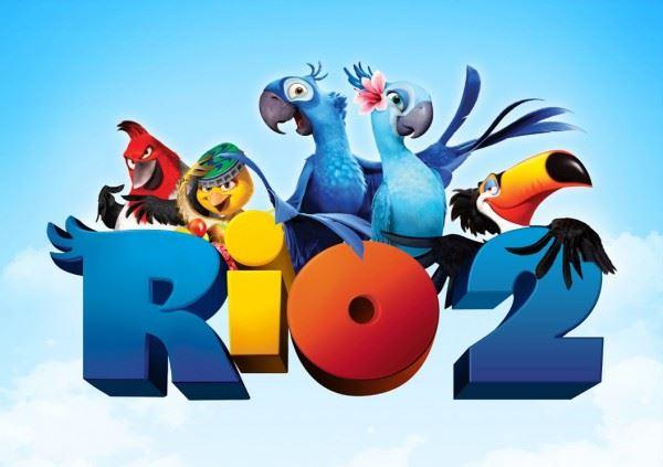 Трейлер красивого мультфильма-«Рио 2» (2014)